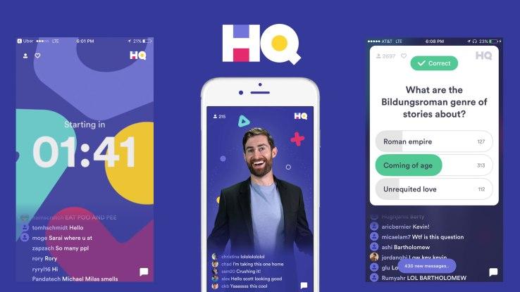 HQ Trivia, la nueva app de los fundadores de Vine