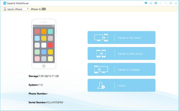 EaseUs MobiMover, el software para migrar datos desde tu viejo iPhone a los nuevos iPhone 8 o Phone X