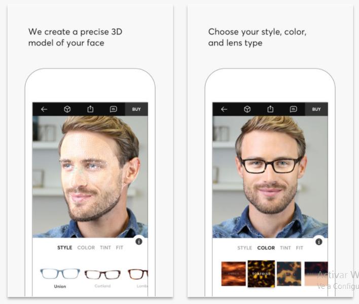 Topology Eyewear te permite probarte gafas a través de realidad aumentada
