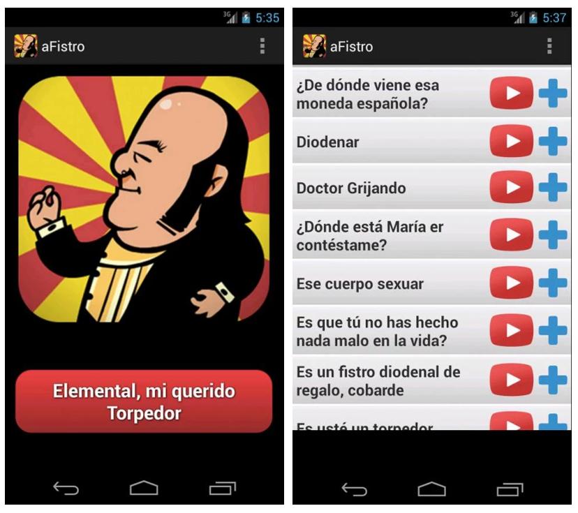 aFistro, la app para recordar a Chiquito de la Calzada y sus frases