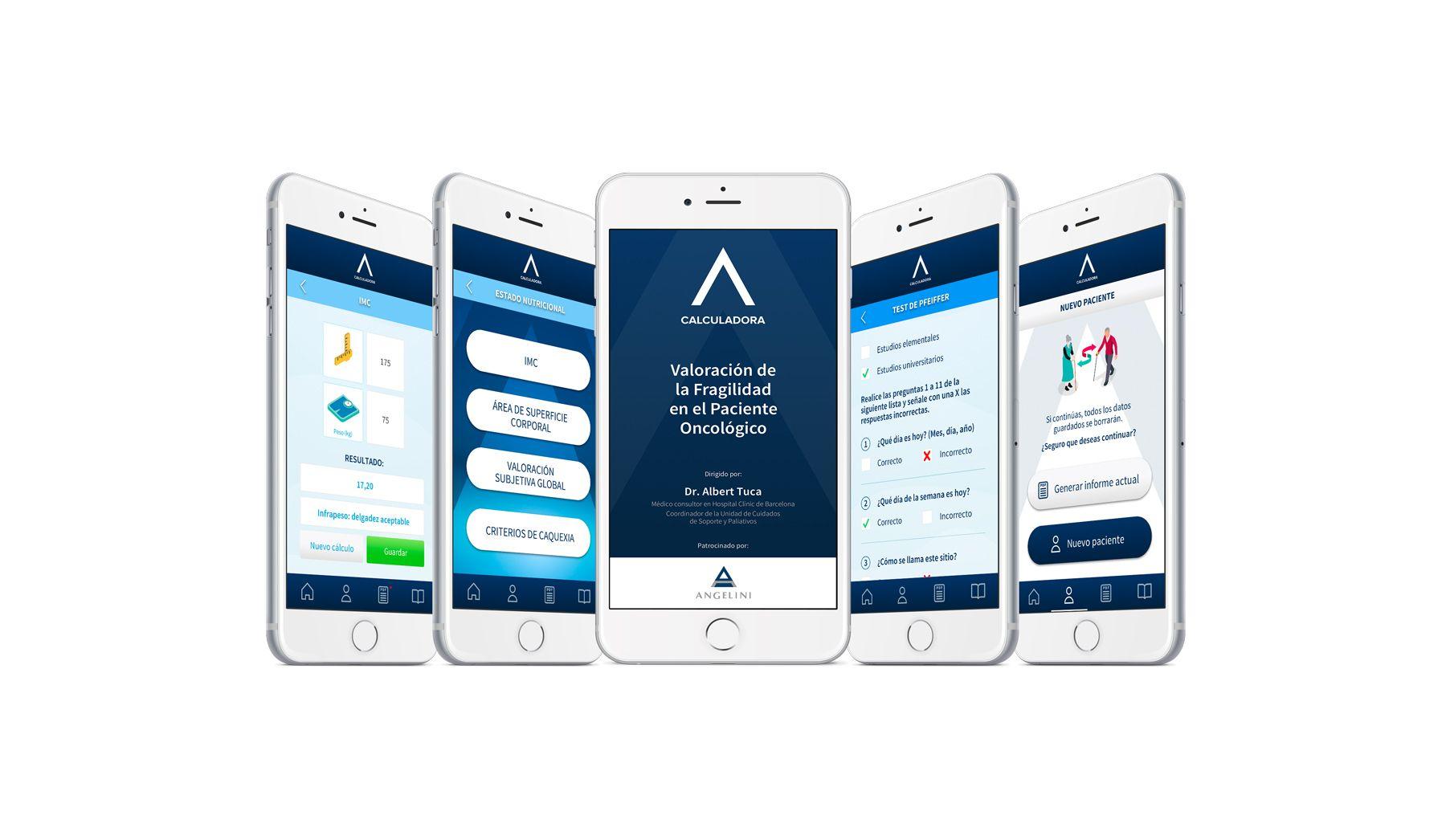 Crean una app para valorar la fragilidad del paciente oncológico