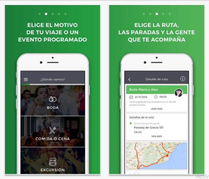 BusUp, la app para alquilar un autocar de manera colaborativa