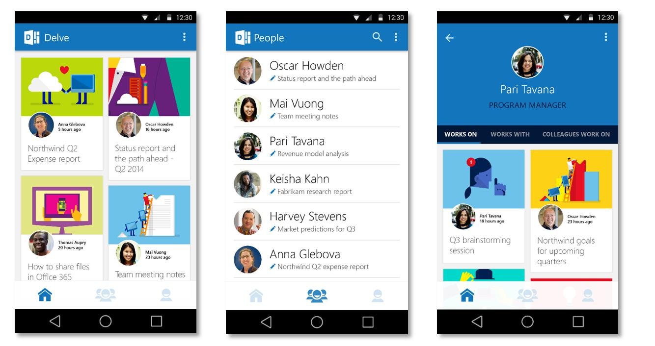Microsoft fulmina su app de productividad Delve