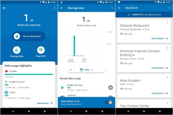 Google lanza una app de control de datos para mercados emergentes