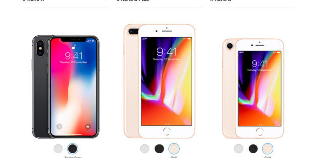 ¿Cuáles son las diferencias entre el iPhone 8 y el iPhone X?