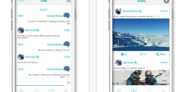 uSchuss!, de app para encontrar monitores de esquí a red social