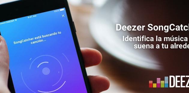 Deezer presenta su propio Shazam