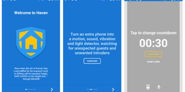 Haven, la nueva app de seguridad de Edward Snowden