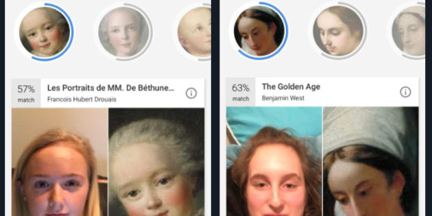 Una app de Google te dice a qué obra de arte te pareces