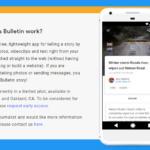 Google lanza Bulletin, una app con la que cualquiera puede convertirse en reportero