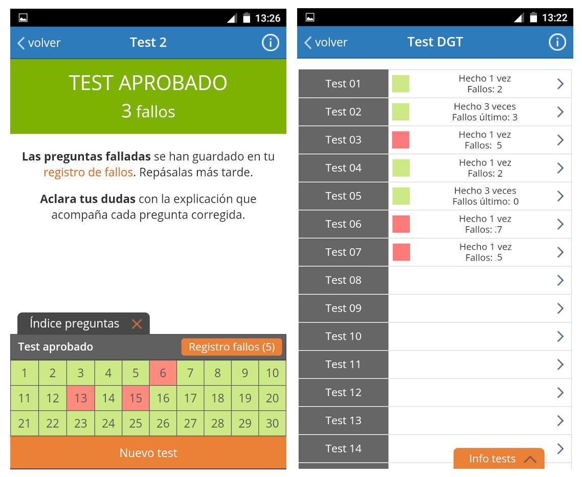 Todotest, la app para prepararte el carnet de conducir