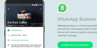 WhatsApp Business ya es una realidad