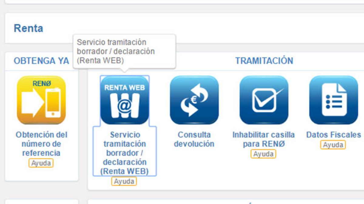 La Agencia Tributaria lanzará una app para hacer la declaración de la Renta