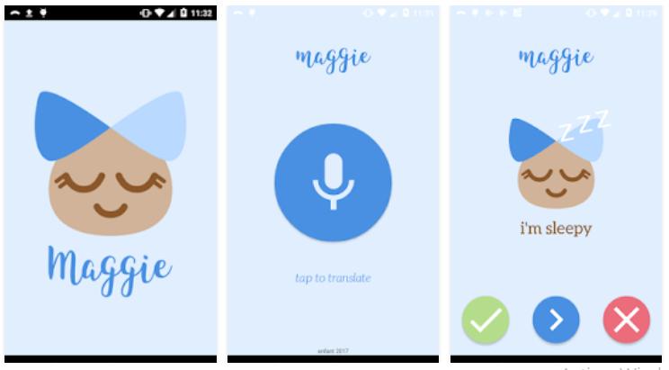 Maggie, la app que interpreta el llanto de tu bebé