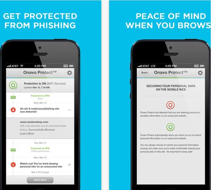 Facebook invita a usar la app de seguridad Onavo Protect, sin indicar que es de su propiedad