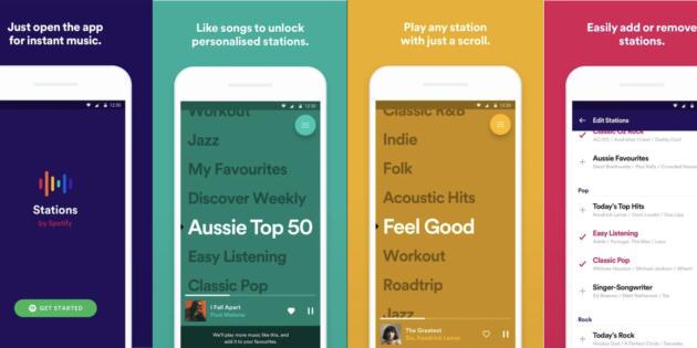 Spotify podría lanzar una app independiente al estilo de Pandora