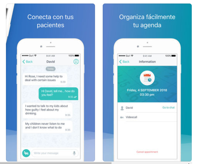 Divan, una app para que los psicólogos hagan terapia online de forma segura