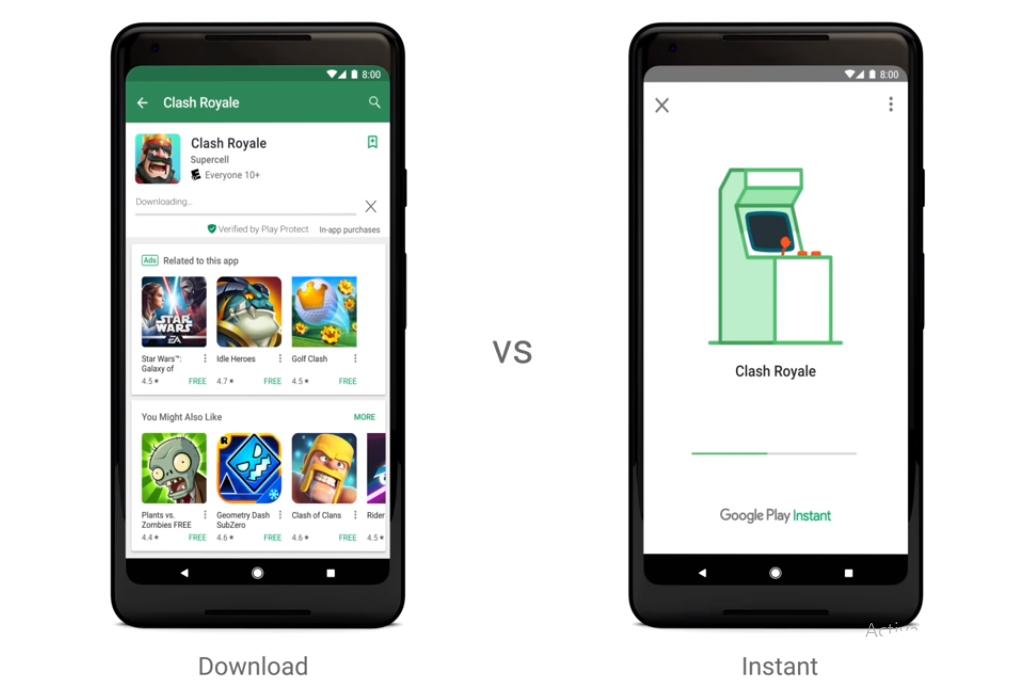Google permite probar juegos móviles sin descargarlos con Google Play Instant