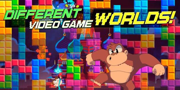 Juanito Arcade Mayhem, el juego móvil que homenajea a los clásicos del arcade