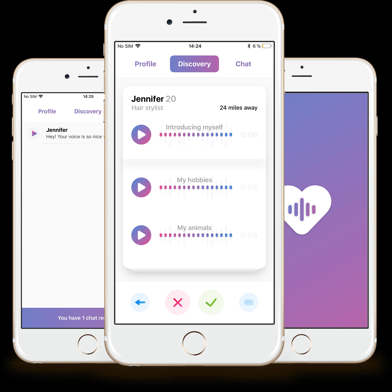 Waving, la app para ligar solo con la voz