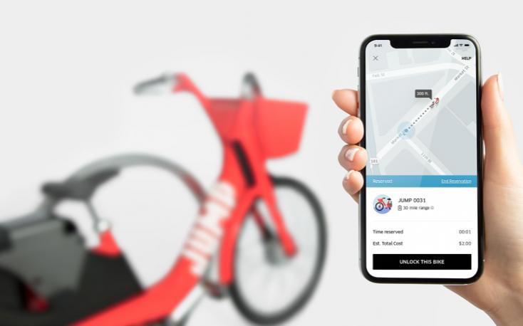 Uber se hace con Jump Bikes y permitirá reservar bicis con su app en varias ciudades del mundo