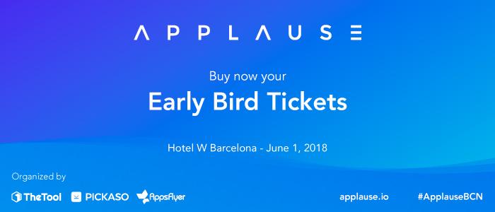 Applause 2018, el evento de referencia en App Marketing, calienta motores
