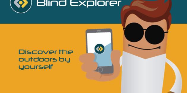 Blind Explorer, la app radar que guía a los invidentes