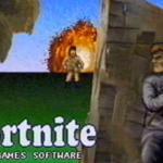 Así habría sido Fortnite si se hubiera creado en los noventa
