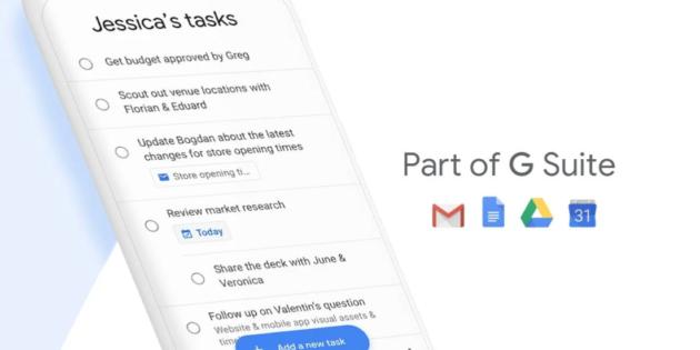 Así es Tasks, la nueva app de productividad de Google