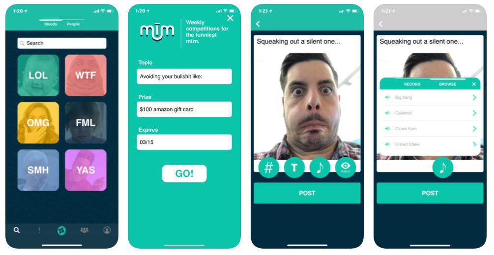 Mim, la app para crear GIFs personalizados con tu cara que ha batido records