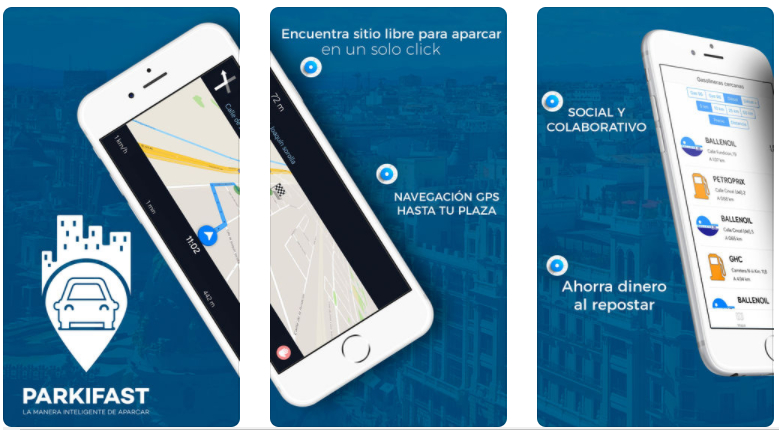 Parkifast, ya disponible para iOS