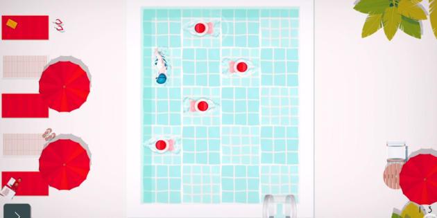Swim Out, un relajante juego de puzles para mostrar tus dotes natatorias
