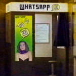 ¿Y si WhatsApp se hubiera creado en los ochenta?