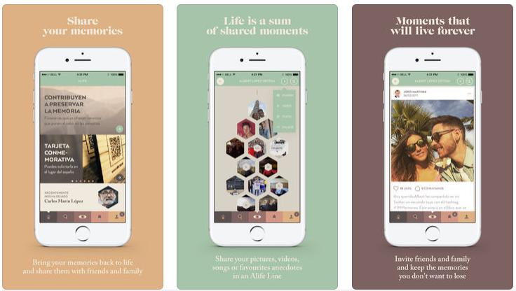 Alife, la app para organizar funerales y recordar a seres queridos