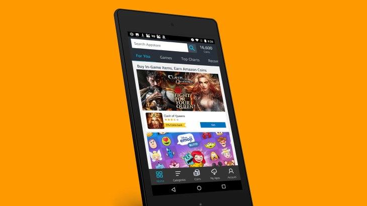 Amazon abre una app store dirigida a sus comerciantes