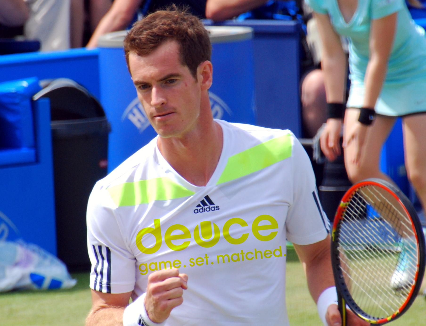 Andy Murray invierte en Deuce, una app para impulsar la práctica del tenis