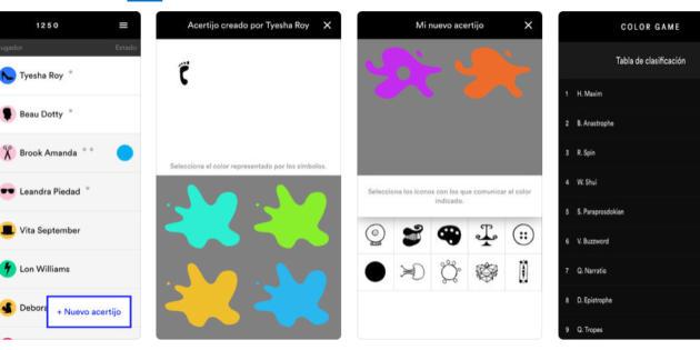 Color Game, una app para entender la construcción y evolución de las lenguas
