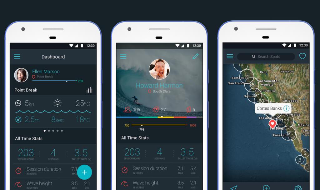 Apps y webs para disfrutar del surf