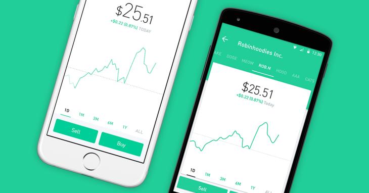 La app de trading Robinhood recauda 280 millones de dólares en una ronda de financiación