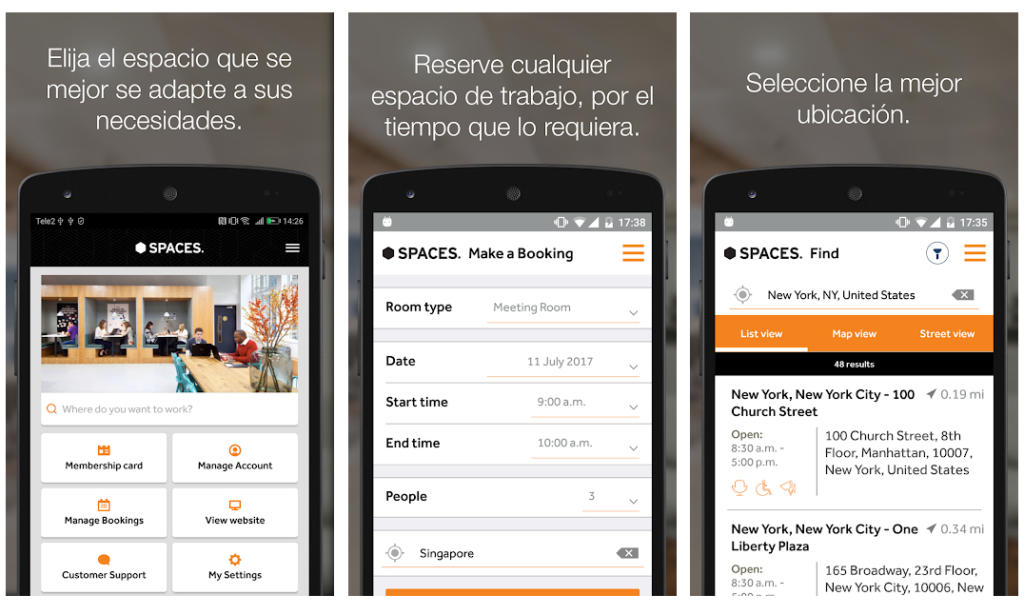 """Spaces: """"Nuestra app permite reservar cualquiera de nuestras oficinas en todo el mundo"""""""