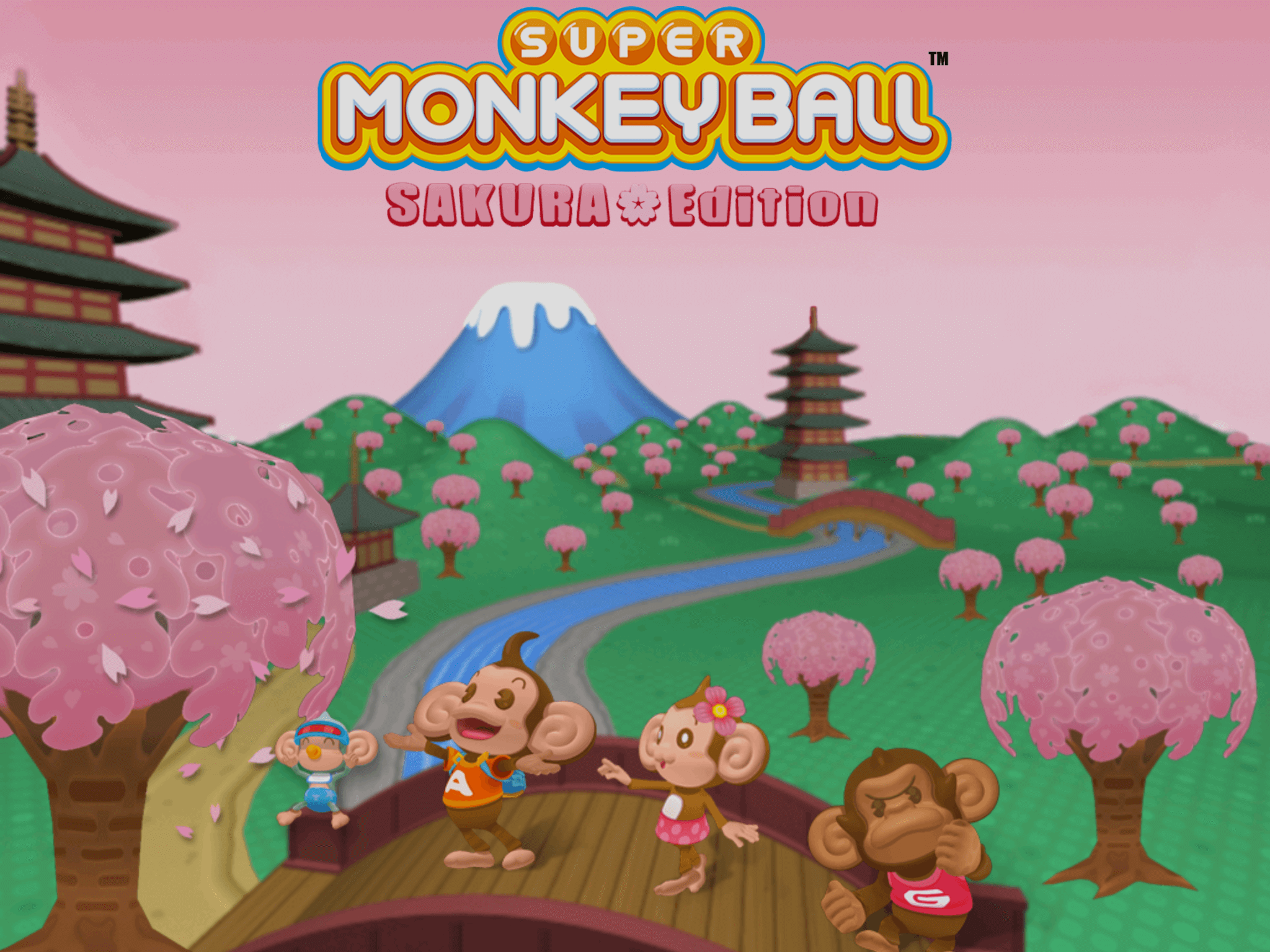 Super Monkey Ball: Sakura Edition, ya disponible en iOS y Android