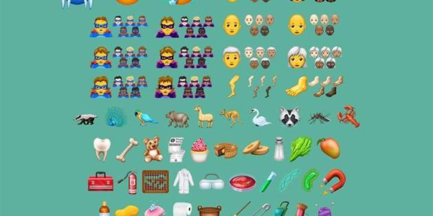 Los pelirrojos, los superhéroes y el papel higiénico se estrenan hoy como emojis