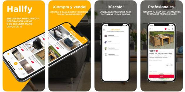 Hallfy, la app para comprar y vender muebles