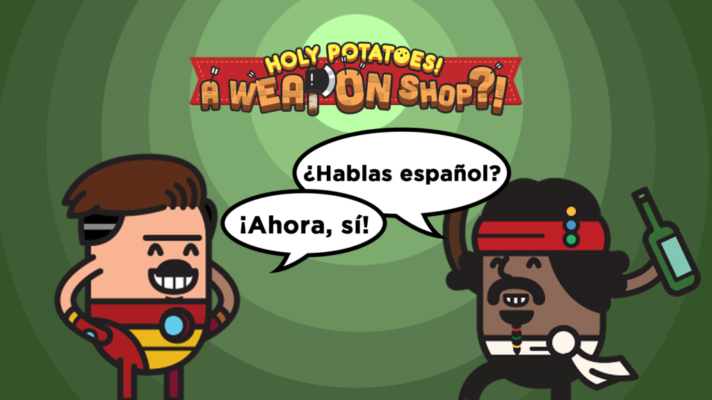 Holy Potatoes! A Weapon Shop?!, ya disponible en castellano