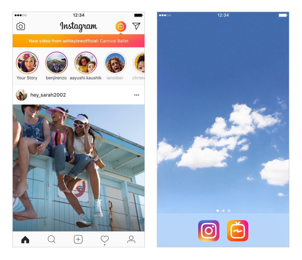 Así es IGTV, la nueva app de vídeos de Instagram