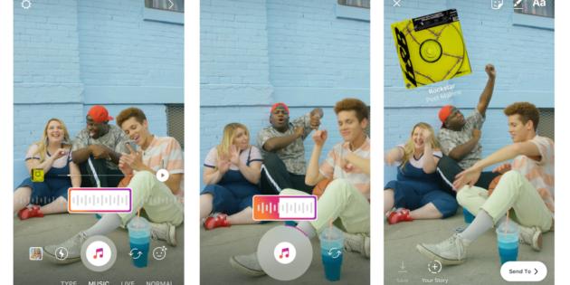 La música llega a las Stories de Instagram