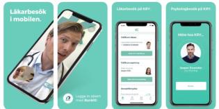 La app médica KRY levanta 66 millones de dólares de financiación