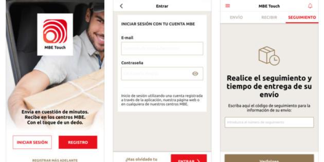 Mail Boxes lanza una app para enviar y recibir paquetes desde cualquier lugar