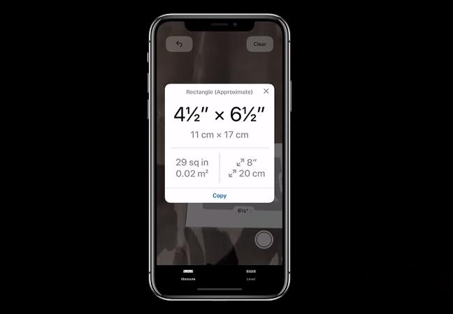 Apple quiere tomarte la medida con Measure