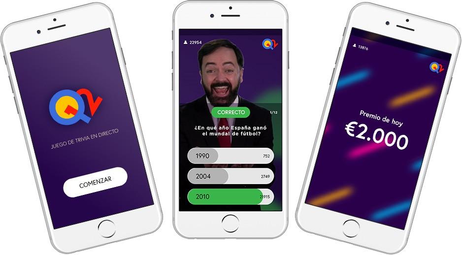 La app de quiz y concurso Q12 Trivia se estrena en España